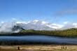 Longs Peak on a foggy Day