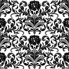 Floral seamless wallpaper pattern