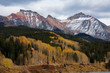 Amazing landscapes of San Juan national forest in Colorado, USA
