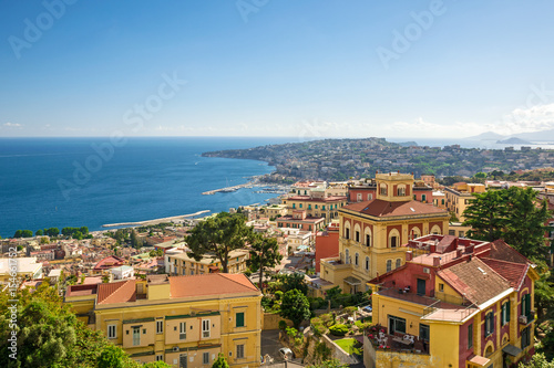 Fotobehang Napels view of the coast of Naples, Italy