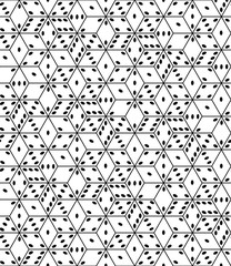 Abstract dice seamless pattern
