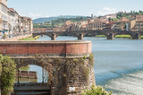 beautiful piece of florence in a sunny day