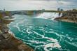 The destination of Niagara Falls from Canadian site, Ontario, Canada