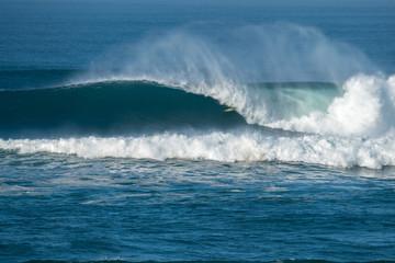 hossegor la nord surf grosse vague © regis