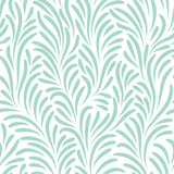 Fototapety Seamless pattern with leafs