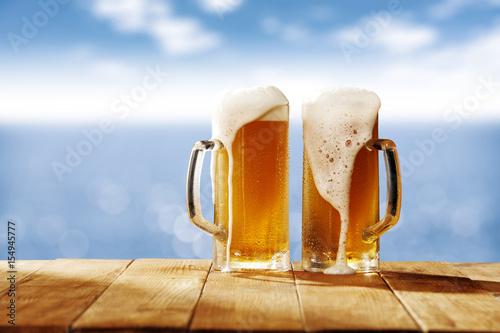 Fototapeta cold beer