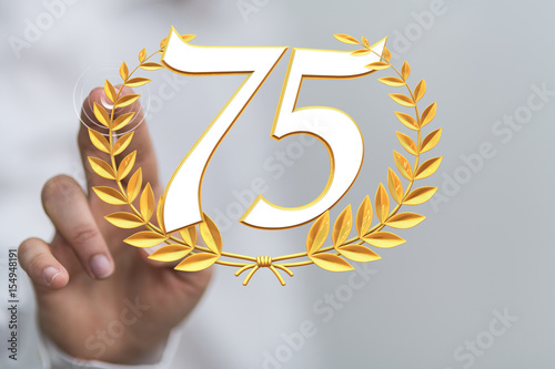 75 years Poster