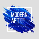 Modern Art Banner - 154962999