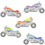 Motorcycles colors