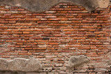 Old brick wall in Thailand temple
