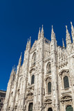 Detail of the Milan Duomo
