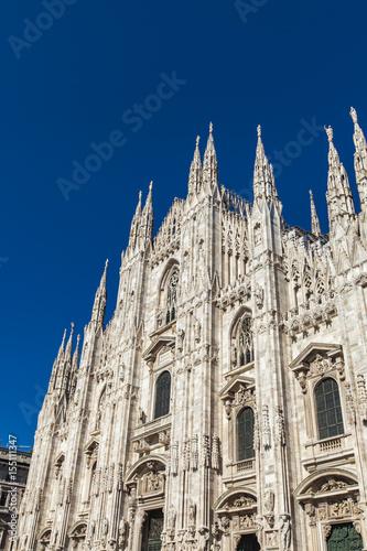 Foto op Canvas Milan Detail of the Milan Duomo