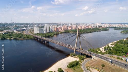Foto op Plexiglas Kiev City landscape. aerial photography