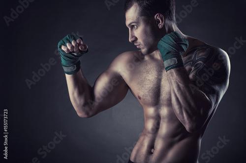 Boxing man Poster