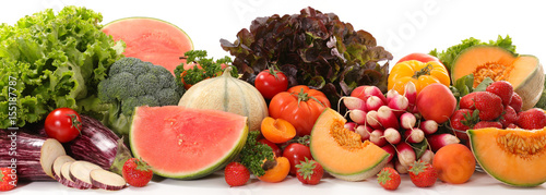 Foto op Canvas Verse groenten fruit and vegetable