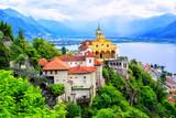Fototapety Madonna del Sasso Church, Locarno, Switzerland
