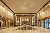 luxury hotel lobby interior - 155341152