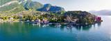 Lago di Como (IT) - Tremezzo - Vista aerea panoramica