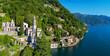 Brienno - Lago di Como (IT) - Chiesa della Madonna - Vista aerea panoramica