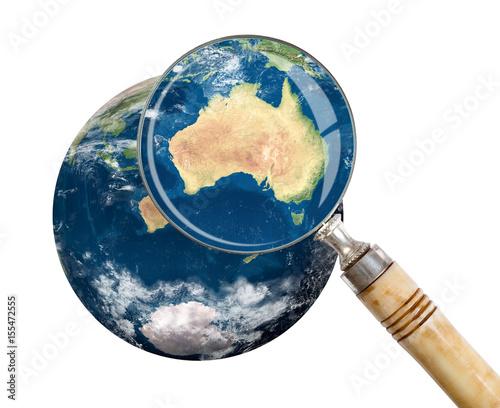 Plexiglas Focus on Oceania