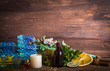 Aromatherapy. Dry flowers. Healing Herbs