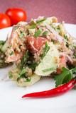 Traditional uzbek salad