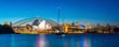 Leinwanddruck Bild - Downtown Sydney skyline
