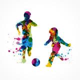 enfants qui jouent au ballon - 155705726