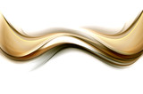 Design trendy element for card, website, wallpaper, presentation. Gold modern bright waves art. Blurred pattern effect background. Abstract creative graphic template. Decorative business style. - 155764199