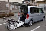 車椅子乗車イメージ - 155779742