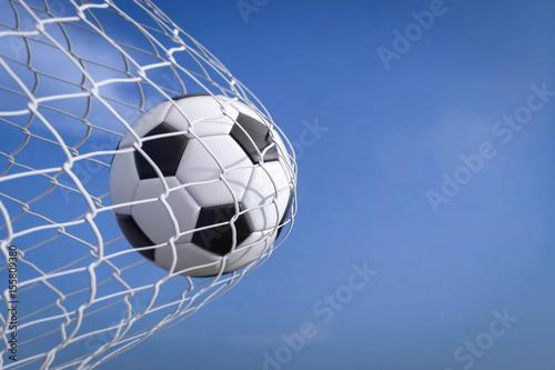 Fototapeta Fussball im Tor