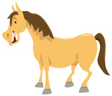 horse cartoon animal character - 155816584