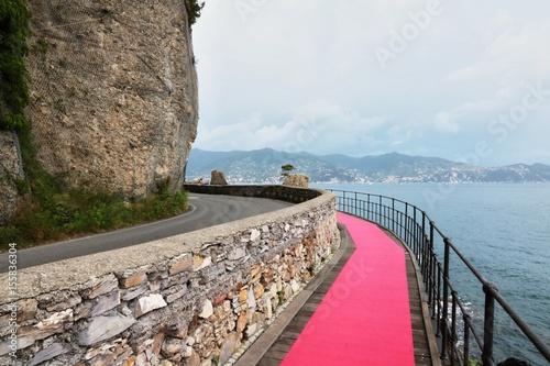 Papiers peints Ligurie Tappeto Rosso Liguria