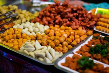 Selection of thai streetfood