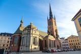 Church Riddarholmen in Stockholm