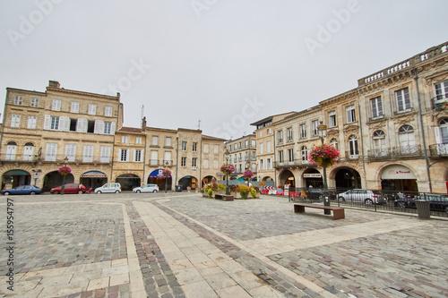 Fridge magnet City of Libourne in France