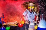 small girl scientist - 155964168