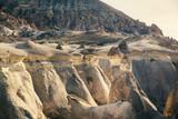 Mushroom shaped fairy chimneys rock formation in Pasabag valley