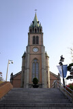 Myeongdong Cathedral In Seoul, South Korea