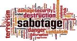 Sabotage word cloud - 156125144