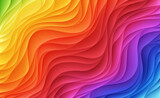 Fototapety Abstract colorful waves