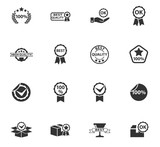 quality icon set - 156179956