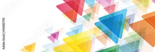 Streszczenie transparent wektor. Kolor geometryczny tło z trójkąta