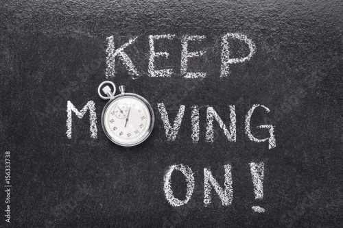 keep moving on watch Poster