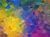 Paint Brush Strokes - Abstract Background