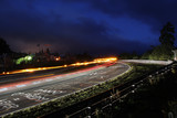 Nürburgring 24h race long exposure at the Schwalbenschwanz bend  - 156343730