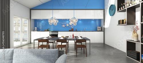 Loft Wohnung Industriegebäude © niklask19312049