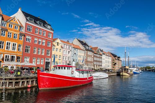 Foto op Aluminium Scandinavië Nyhavn district in Copenhagen
