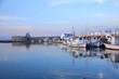 Port de Naoussa sur l'île de Paros