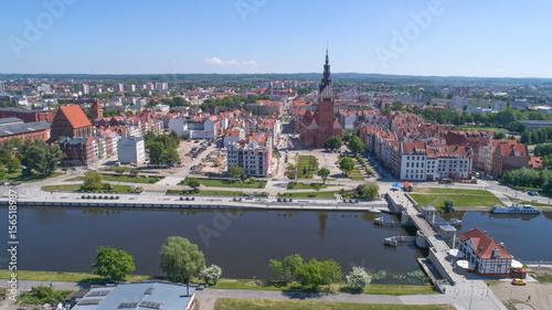 Fototapeta Elbląg Stare Miasto 4